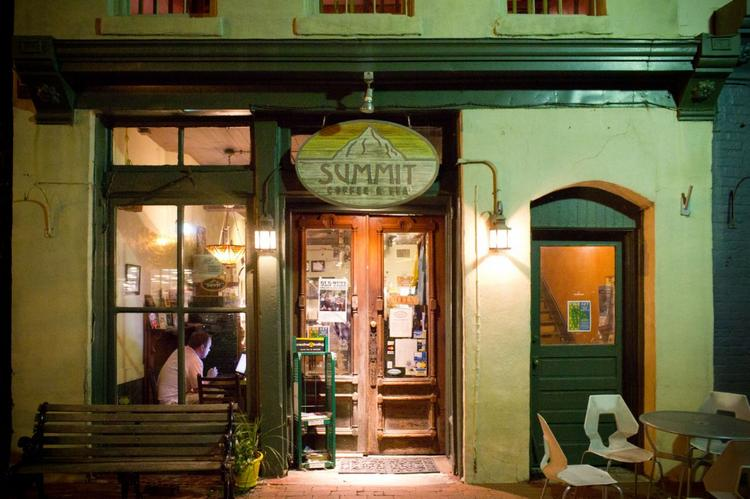 Summit Coffee's original location is at 128 S. Main St. in Davidson.