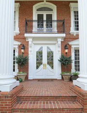 The home at 8925 Old Southwick Pass in Alpharetta, Ga., was built in 1994 and sits on 1.95 acres.