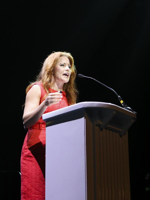 Dell Inc. Entrepreneur-In-Residence Ingrid Vanderveldt was the keynote speaker at the Austin Business Journal's Profiles in Power event at the Moody Theatre.