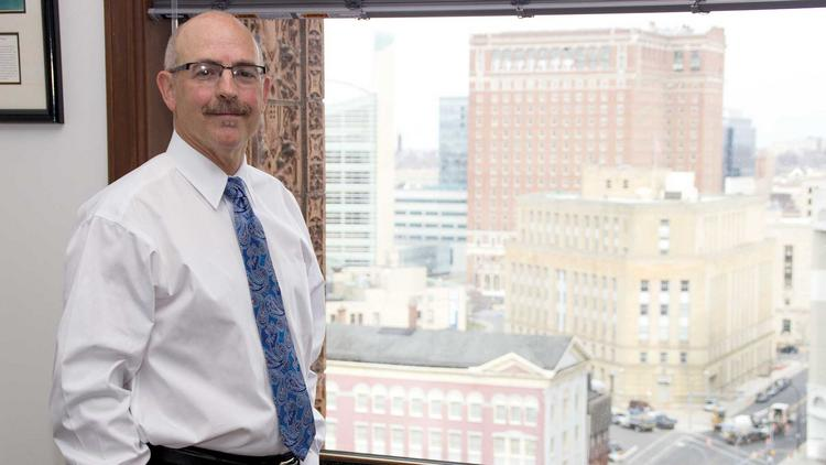 Rick Kennedy says he learned from the best, Robert Conklin, as he rose through the ranks at Hodgson Russ LLP.