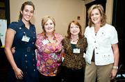 From left: Katherine Woodall, Lori Weir, Becky Bayne and Frances Woodall