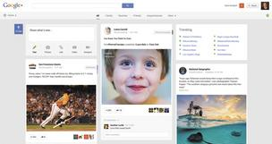 Growth Spurt: The Google+ Stream is popping up on more and more computer screens as the social network has seen a surge in active users in the past year.