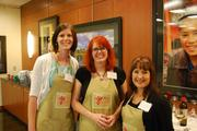 From left: Joy Boyd, Baker Donelson; Eve Freeman, Bar-b-Cutie and Shannon McGee, American Addiction Centers