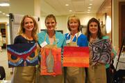 From left: Christy Crider, Baker Donelson; Robyn Rogers, National Healthcare Corp; Stacia Vetter, National Healthcare Corp and Dawn White, TheVacuumCenter.com