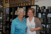 From left: Janet Summers,The Beveled Edge founding partner, and Amy Seigenthaler