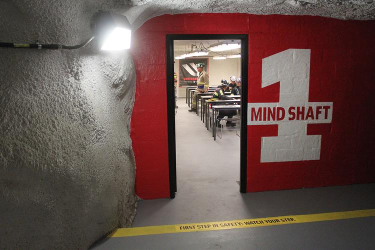 Consol Energy Inc.'s Underground Training Academy trains new miners and offers brush-ups for veterans.