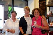 From left: Kathy Alexander, Jane Anderson and Karen George