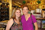 Carrie Sublett, left, and Kathy Dortch