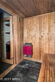 Relax in Ray Lewis' sauna.