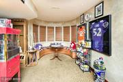 The house doesn't come with Ray Lewis jerseys, but you're welcome to bring your own.