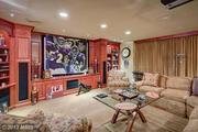 Your friends would love you if you had a Super Bowl party here.