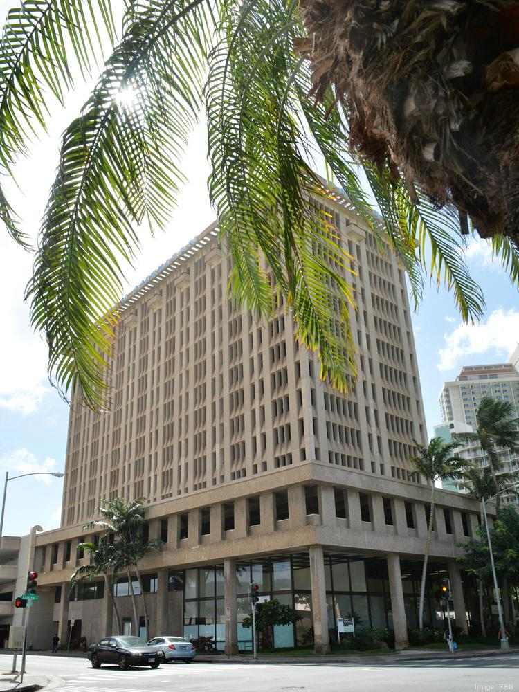 Pan Am Building In Honolulu