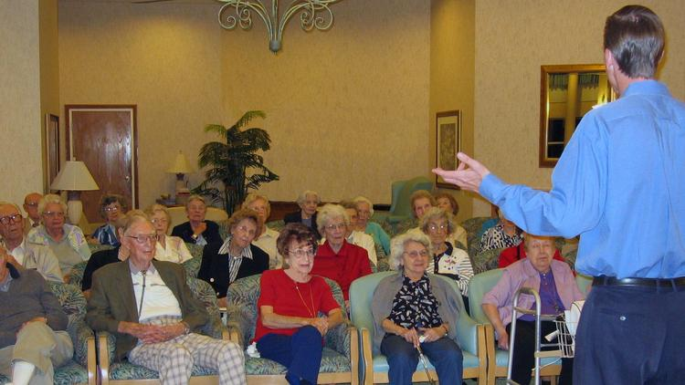 Active Minds offers classes at senior centers and other locations on topics pertaining to politics, history and the arts.