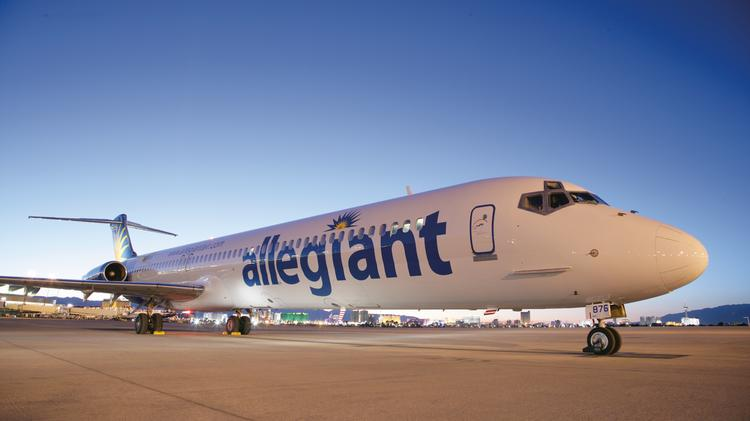 What destinations does Allegiant Air serve from Sanford, Florida?