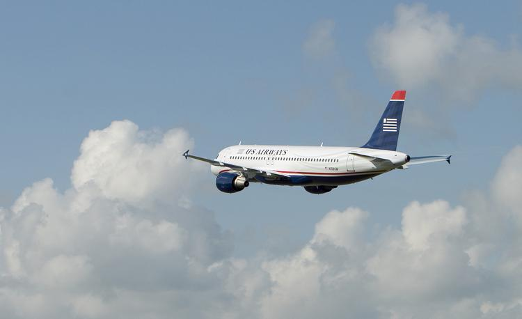 US Airways' passenger traffic continues to rise.