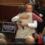 Morning Roundup: Kasich's hug seen round the world, Schottenstein teams with Gronkowski, Picasso coming to Columbus, and why isn't Dancing Kevin at Blue Jackets games anymore?