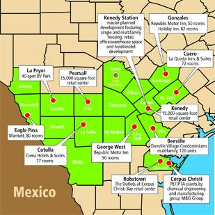 Eagle Ford Shale: a wellspring of activity  This is a sampling of some of the many projects planned, or already on the ground, that have been spurred by or will benefit from the oil-and-gas boom happening in the South Texas counties that touch the Eagle Ford Shale.