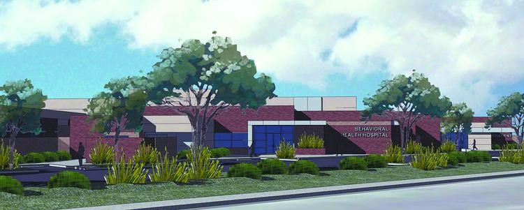Signature Healthcare Services' proposed psychiatric hospital was approved by the city planning commission in June.