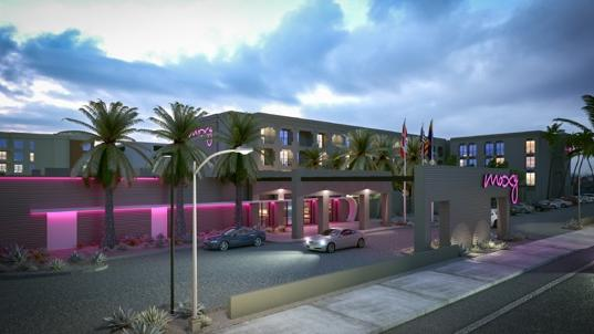 A Rendering Of The Upcoming Moxy Hotel In Tempe