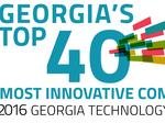 Who made TAG's Top 40 Innovative Technology Companies in Georgia?