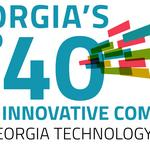 Who made TAG's Top 40 Innovative Technology Companies in Georgia for 2016?