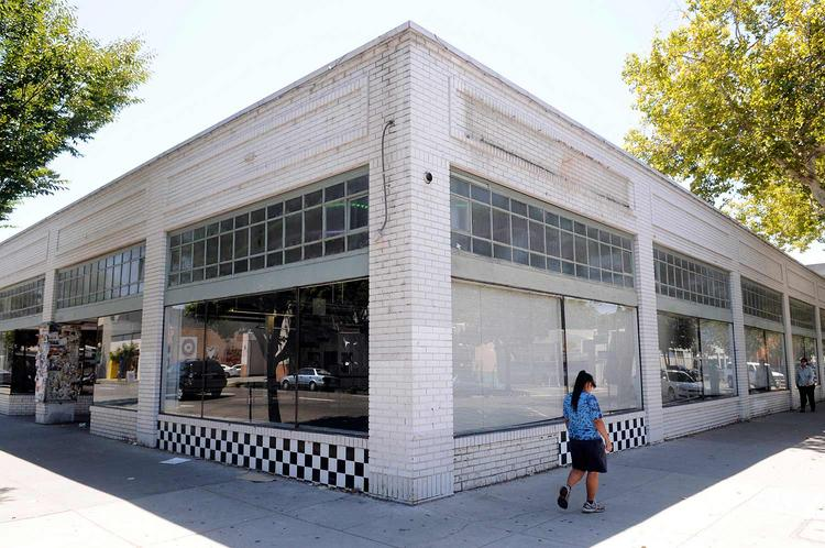 This building at 1700 J St. was The Beat's home for 19 years. BevMo, a national liquor-store chain, is seeking city approval to move in.