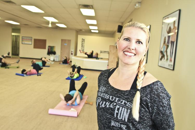 Christine Zoyhofski's Jazzercise franchise in Upper Arlington has 400 members.