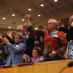 Charlotte council approves LGBT ordinance (PHOTOS)