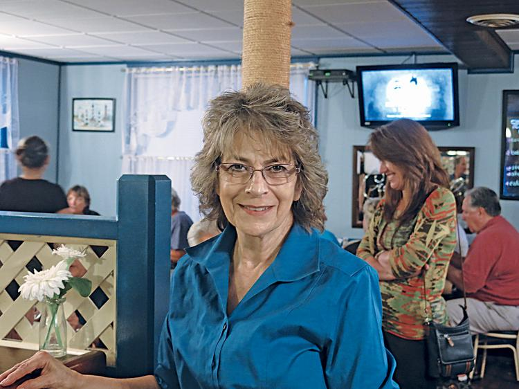 Kathleen Green likes the fact that Crossroads is a community meeting place.