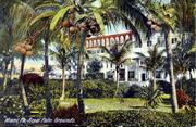 Another postcard shows the hotel.