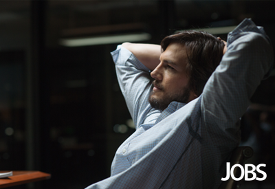 """Ashton Kutcher plays Steve Jobs in the film """"Jobs,"""" which opened poorly with a $6.7 million opening-weekend haul."""