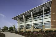 Cosumnes River College will dedicate the Winn Center. This is a side view of the building.