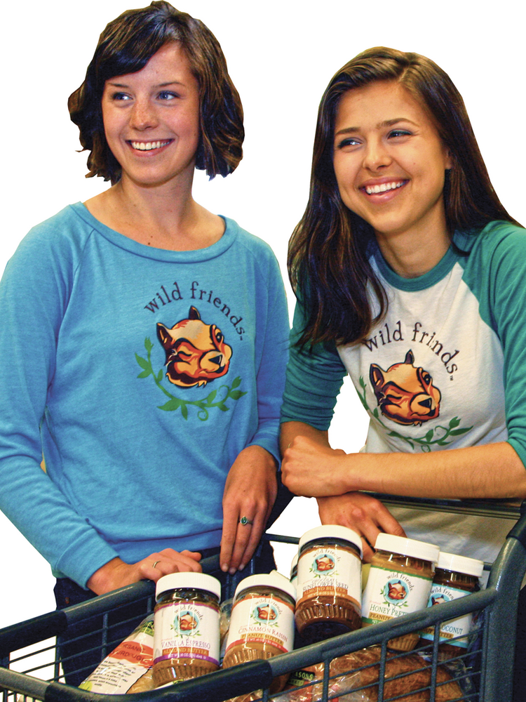 Keeley Tillotson and Erika Welsh, co-founders of Wild Friends Foods, were among several businesses honored this week by the SBA.