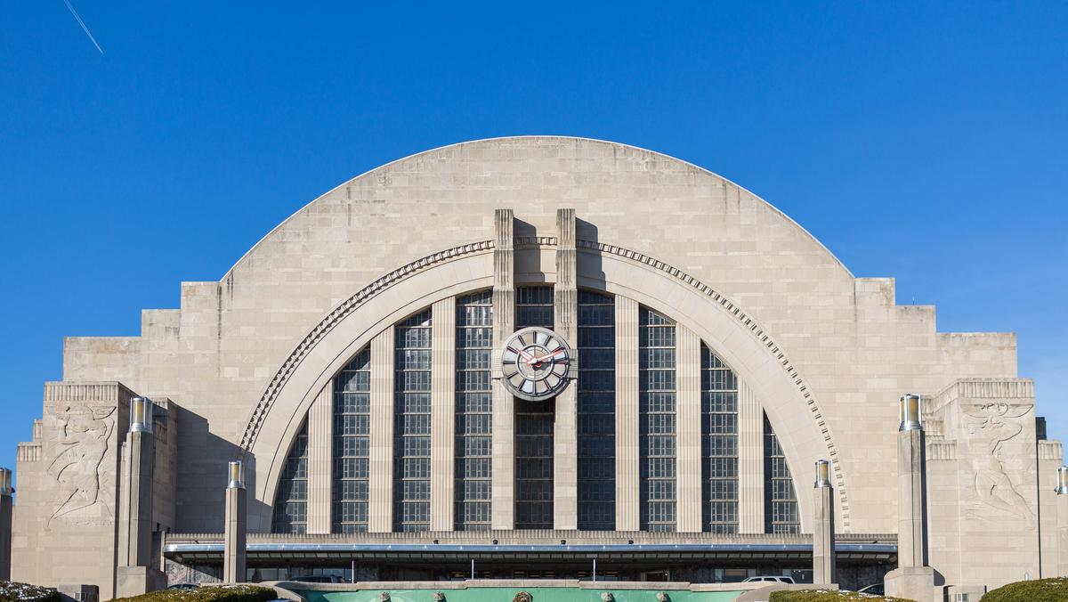Union Terminal Using Lasers To Look At Building 39 S Bones