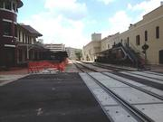 SunRail construction continues with the Church Street Station stop in downtown Orlando.