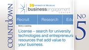 University of Michigan	 2011-12 licensing income:  $13.9M	 Research expenditures:  $1.3B