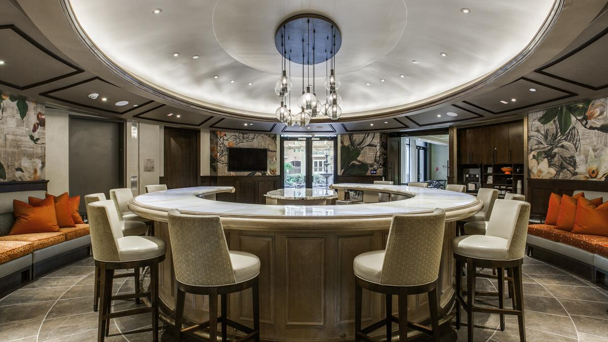 StreetLights Residential Offers A Full Service Bar At The James Luxury  Apartment In Houston   Houston Business Journal