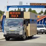 Amazon's Treasure Truck is finally here. Available today: Glassybaby