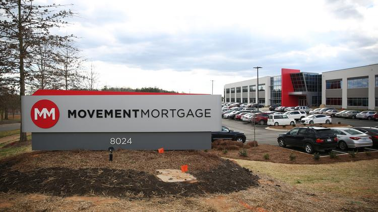 Movement mortgage moves into new hq charlotte business for Loan to build a house on land