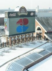 The event was held at TCF Bank Stadium at the University of Minnesota