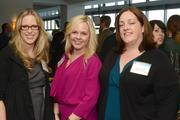 Left to right: Nicole Middendorf, honoree Ingrid Christensen and Laura O'Neill. Middendorf was a 2012 40 Under 40 honoree.