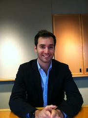 Chris Siegfried works as a production partner in mortgage banking at HomeStreet Bank's Lake Union branch in Seattle.