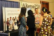 John Ferguson, HR consultant with Simplicity HR, answers questions at the Pacific Business News Small Business Growth Expo.