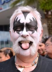 Greg Shinneman of New Orleans bought his tickets while planning an Orlando vacation. He's been a KISS fan since 1973.