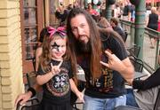 Petey Mangelli brought his 4-year-old daughter Adrianna to her third KISS concert. Mangelli, whose company manages Orlando's annual Spooky Empire horror convention, is a lifelong KISS fan. He even owns a copy of the infamous KISS comic where band members added their blood to the red ink. Awesome!