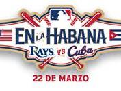 MLB released this logo representing the game in Cuba.