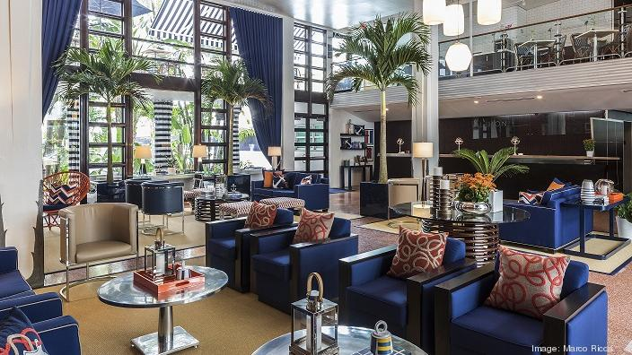 Albion Hotel In Miami Beach Recently Renovated Its Public Es And Guest Rooms