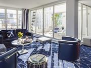 Albion Hotel in Miami Beach recently renovated its public spaces and guest rooms.