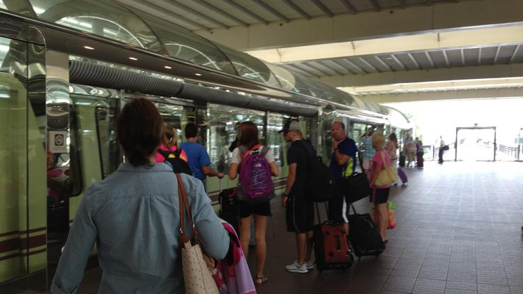 Orlando International Airport plans to extend its automated people mover, which takes passengers from the main terminal to their respective gates, as part of its South Terminal expansion project.