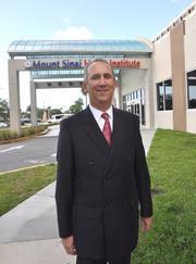 Steven Sonenreich, leads Mount Sinai Medical Center, which was No. 4 in the local rankings.